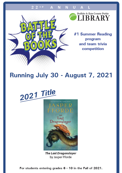 Battle of the Book 2021 Logo