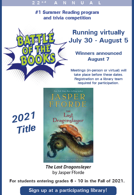 Battle of the Book 2021