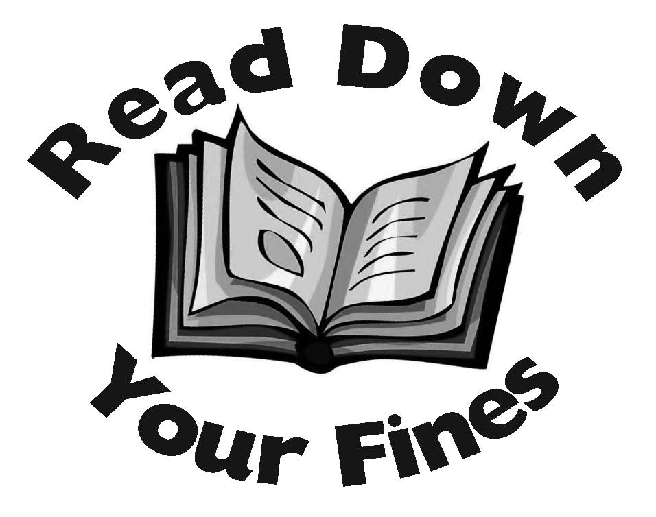 Read Down Your Fines Logo