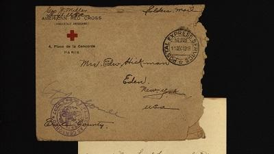 WWI Photos & Letters: Caroline Hickman