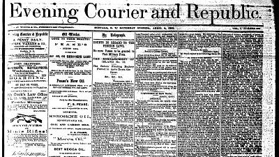 Early Buffalo, Evening courier & Republic (1862-1875)