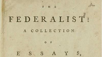The Federalist: Thomas Jefferson's Copy