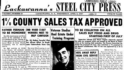 Lackawanna's Steel City Press
