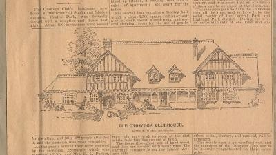 Otowega Club Scrapbook: 1895-1905