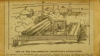 Pan American Exposition Scrapbooks