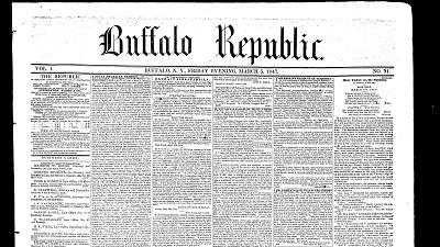 Early Buffalo, The Republic (1847-1848)