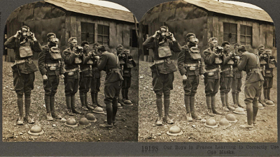 WWI Through the Stereoscope