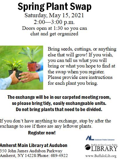 Spring plant swap 2021