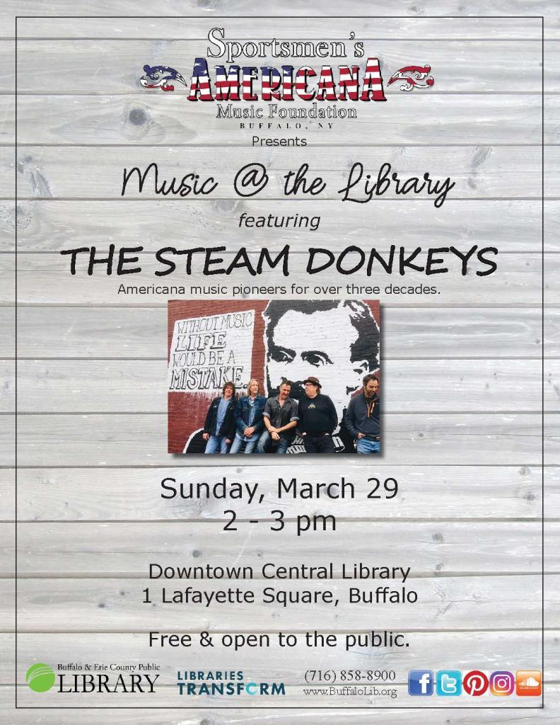 Steam Donkeys March 29