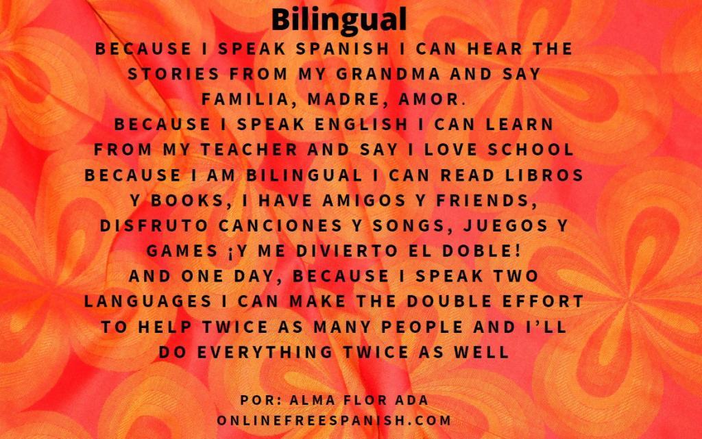 Bilingüe translated