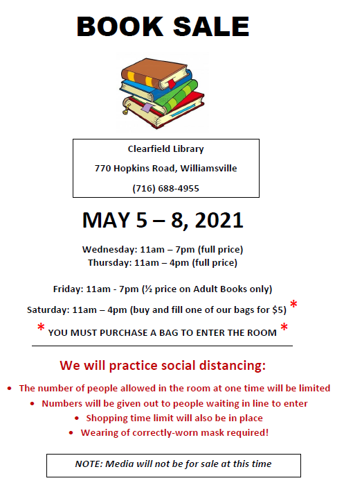 May book sale - CFD