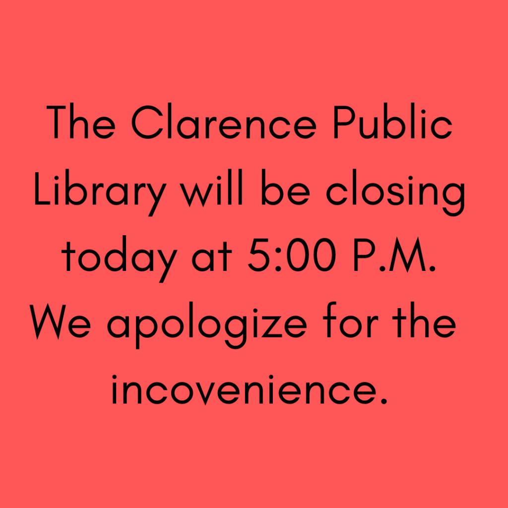 Emergency Closing