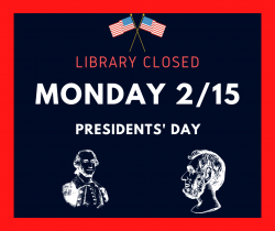 Library Closed 2/15