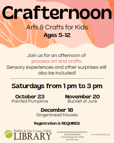 Flyer for Crafternoon