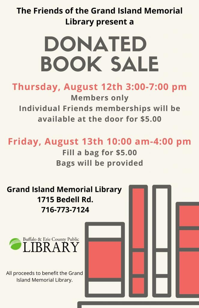 Donated Book Sale