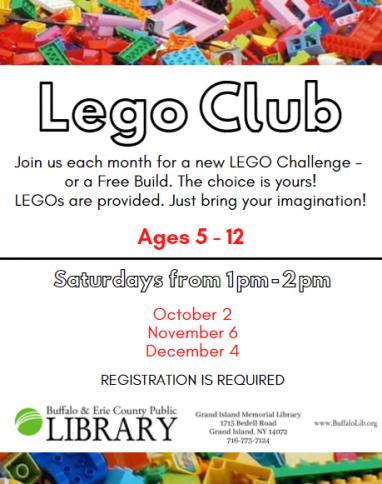 Flyer for LEGO Club