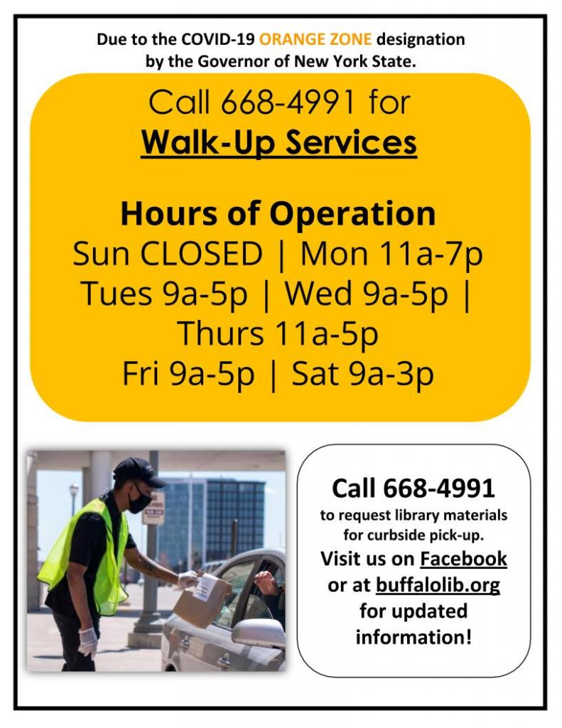 Walk Up Service Only