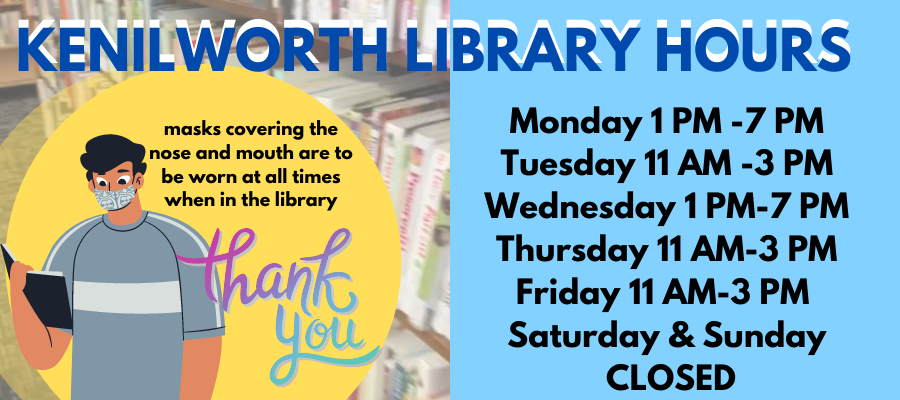 Kenilworth Library Hours
