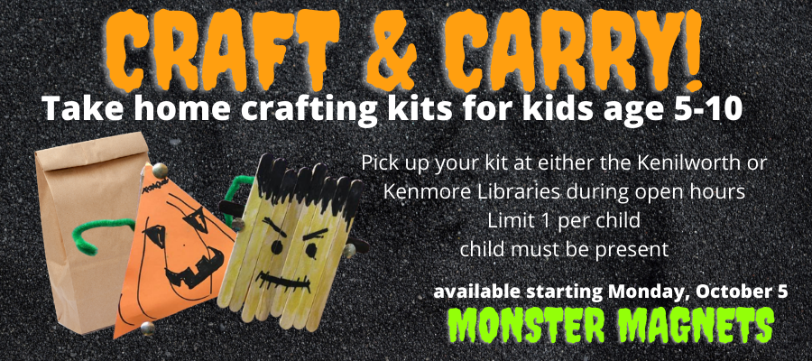 Craft & Carry: Take home crafting kits for kids