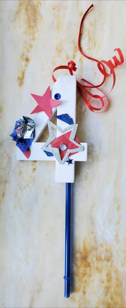4th of July Wand