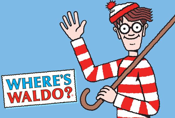 Where's Waldo title with Waldo