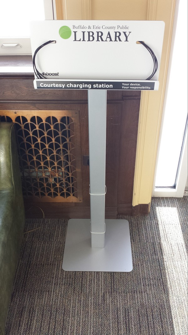 Mobile device charging station