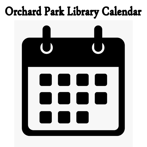 orchard park library calendar link