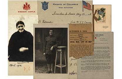 Photos and Newspaper Clippings WWI